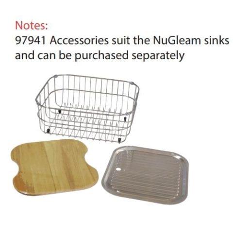 Everhard Nugleam 780 Kitchen Sink Single Bowl & Drainer