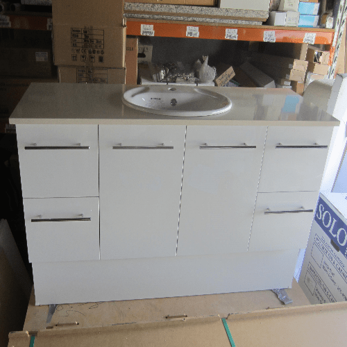 Special Sale Carlo Vanity 1500mm Bathrooms Are Us Brisbane Bathroom Design Amp Renovation