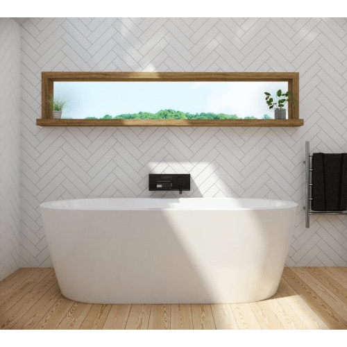 Decina Cool Free Standing Bath: 1500mm or 1790mm