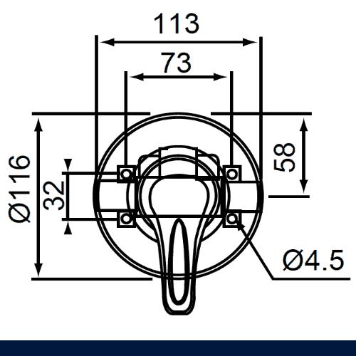 Echo Strata Shower Mixer Drawings 2