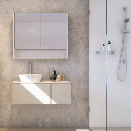 Timberline gold nordic wall hung vanity brisbane bathrooms for Bathrooms r us brisbane