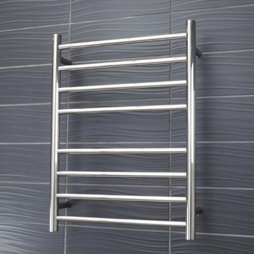 Radiant Heated Towel Rail 8 Bar 65watt Bathrooms Are Us