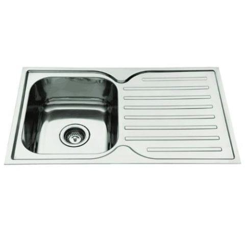 Everhard Squareline 780 Kitchen Sink and Drainer