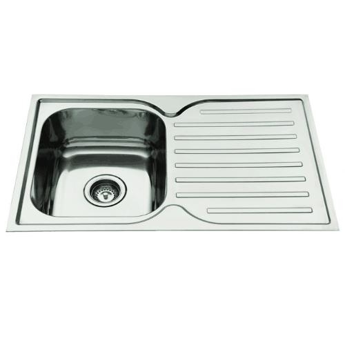 Everhard Squareline 780 Kitchen Sink and Drainer Brisbane Bathrooms ...