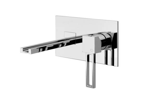 Wall Bath Mixer with spout